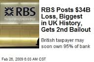 Biggest loss in UK History; No Bankers Jailed