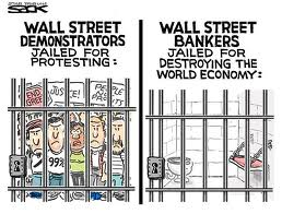Zero high profile bankers in jail = 0 regulation