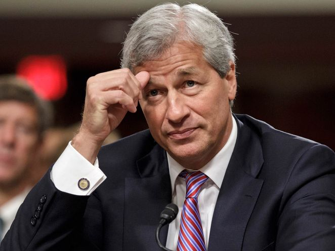 JPMorgan Chase CEO Jamie Dimon; Presidential cufflinks – Tempest cost shareholders 6 Billion