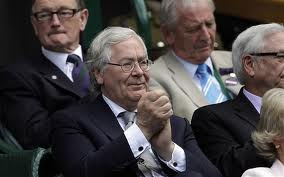 Lord King at Wimbledon