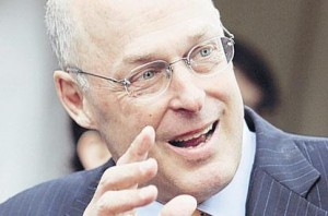Remember him?: The risks have not gone away since Hank Paulson was US Treasury Secretary
