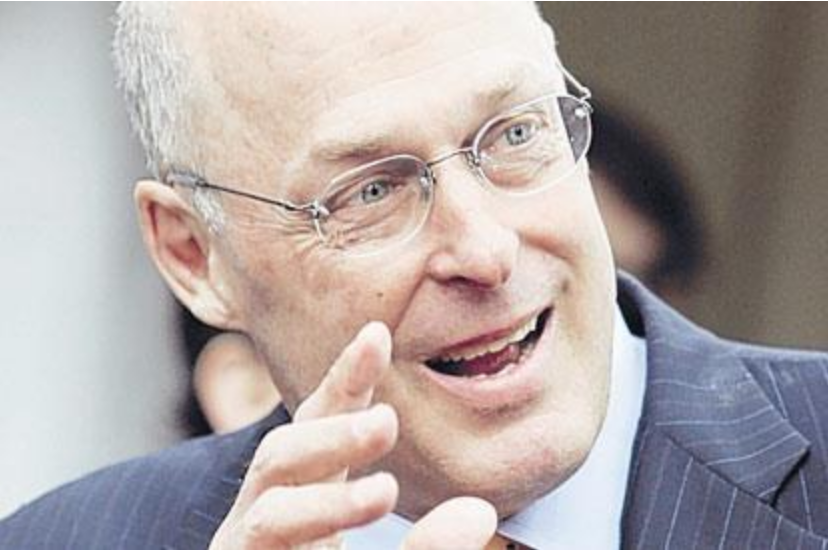 Goldman's Hank Paulson